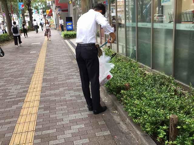 2019911 かんべ不動産 大井町駅前 ごみ拾い_190911_0077.jpg