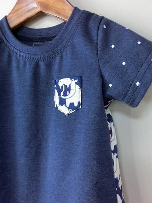 (90)かばさんの半袖Tシャツ