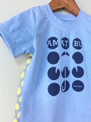 (100)雨粒の半袖Tシャツ