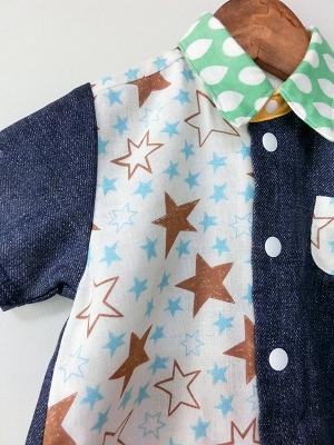 (90-100)ビッグスターの半袖シャツ