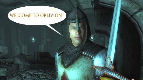 「TES4:オブリビオン」へようこそ!