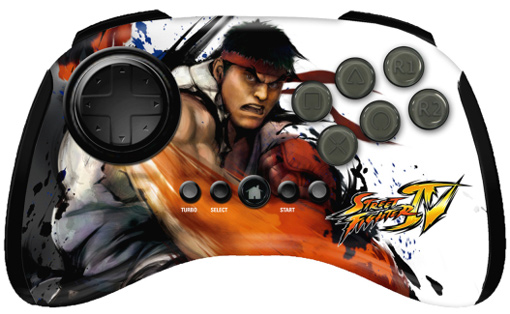 Mad Catz Street Fighter IV Ryu FightPad