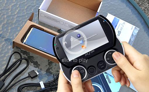 「PSP go」開封動画