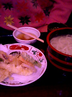 天ぷら釜揚げ