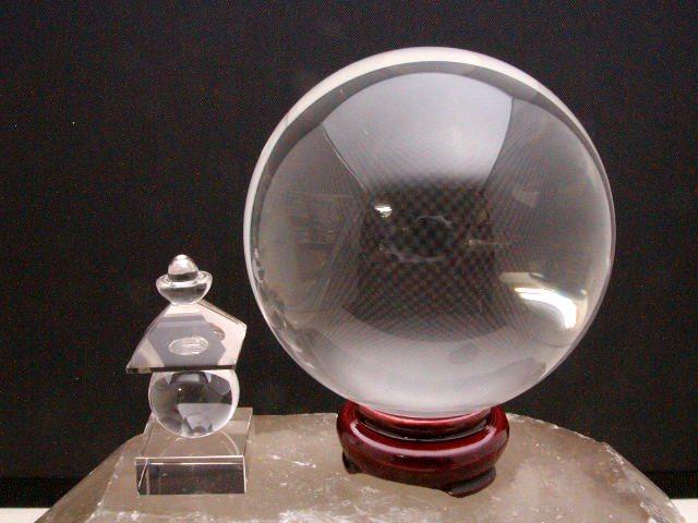 大きな水晶球