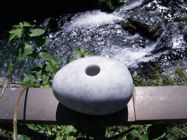日本ヒスイ石笛