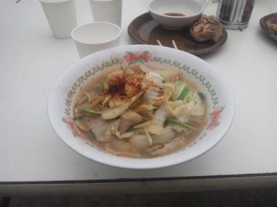 味噌坦々麺¥200