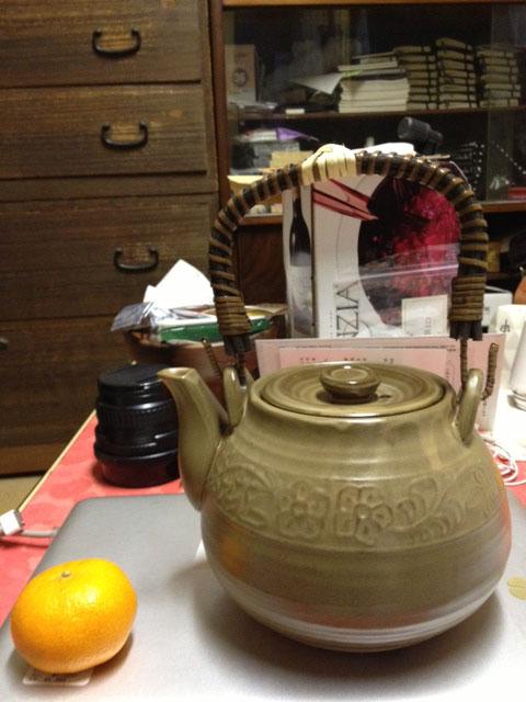 薬用土瓶 イラボ 中山製陶所