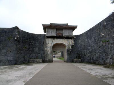 首里城 門