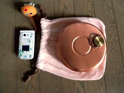 銅製 湯たんぽ