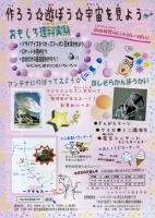 八重山高原星物語2008のポスター 裏側