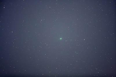 1月16日未明のルーリン彗星(C/2007 N3)