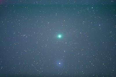 2009年2月1日のルーリン彗星