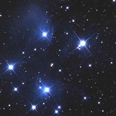 M45プレヤデス星団
