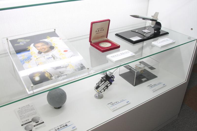 宇宙情報館展示物(karan)