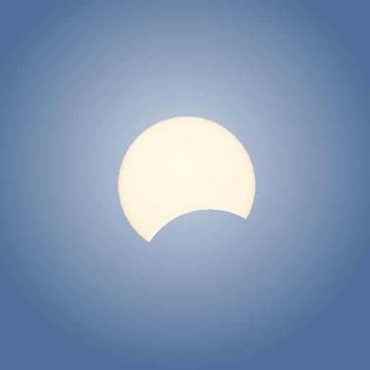 160309部分日食(奄美)