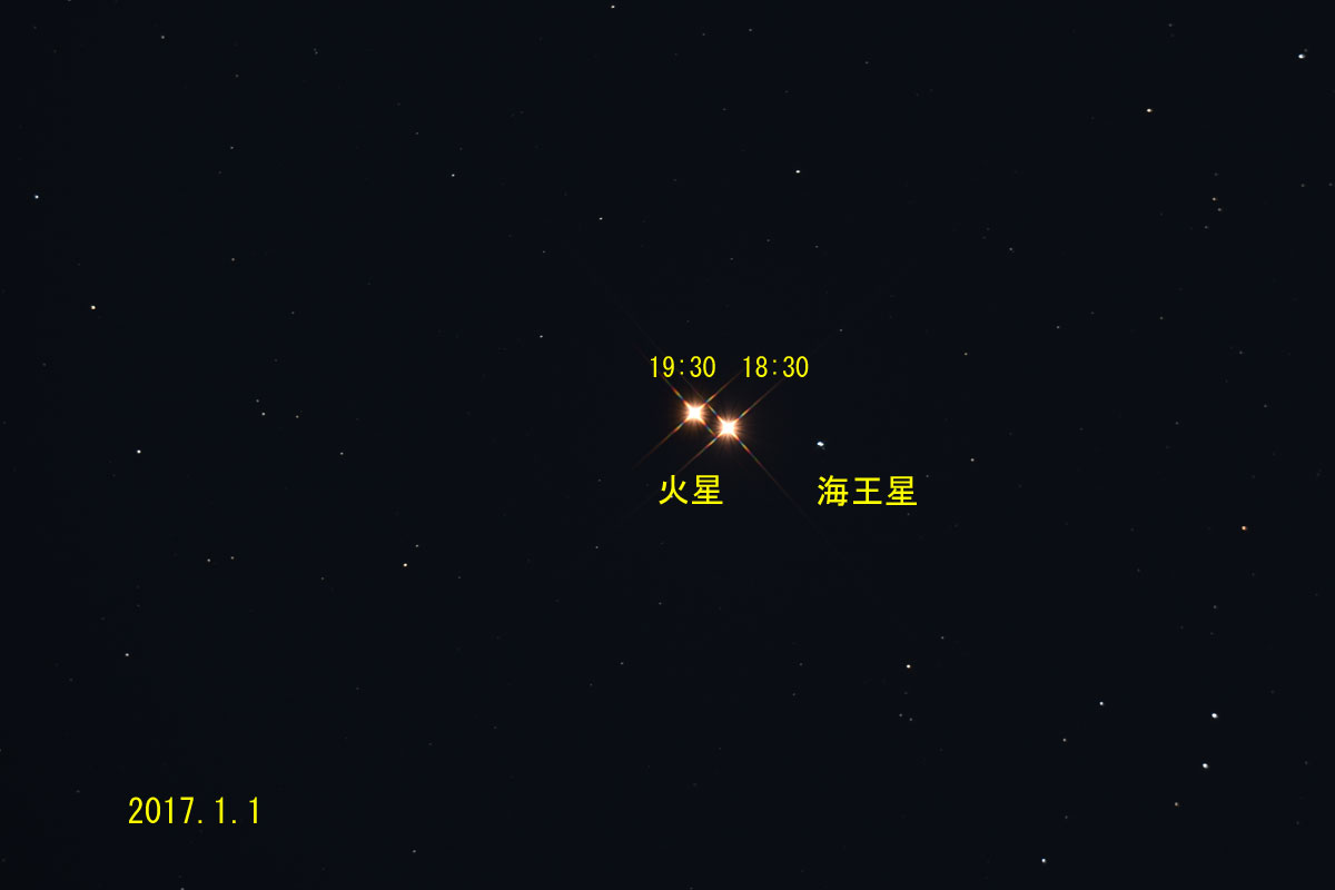 170101火星と海王星の接近_2516・2572c(maeda)