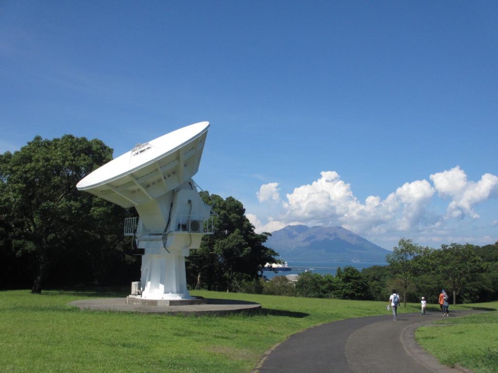 桜島と6m望遠鏡