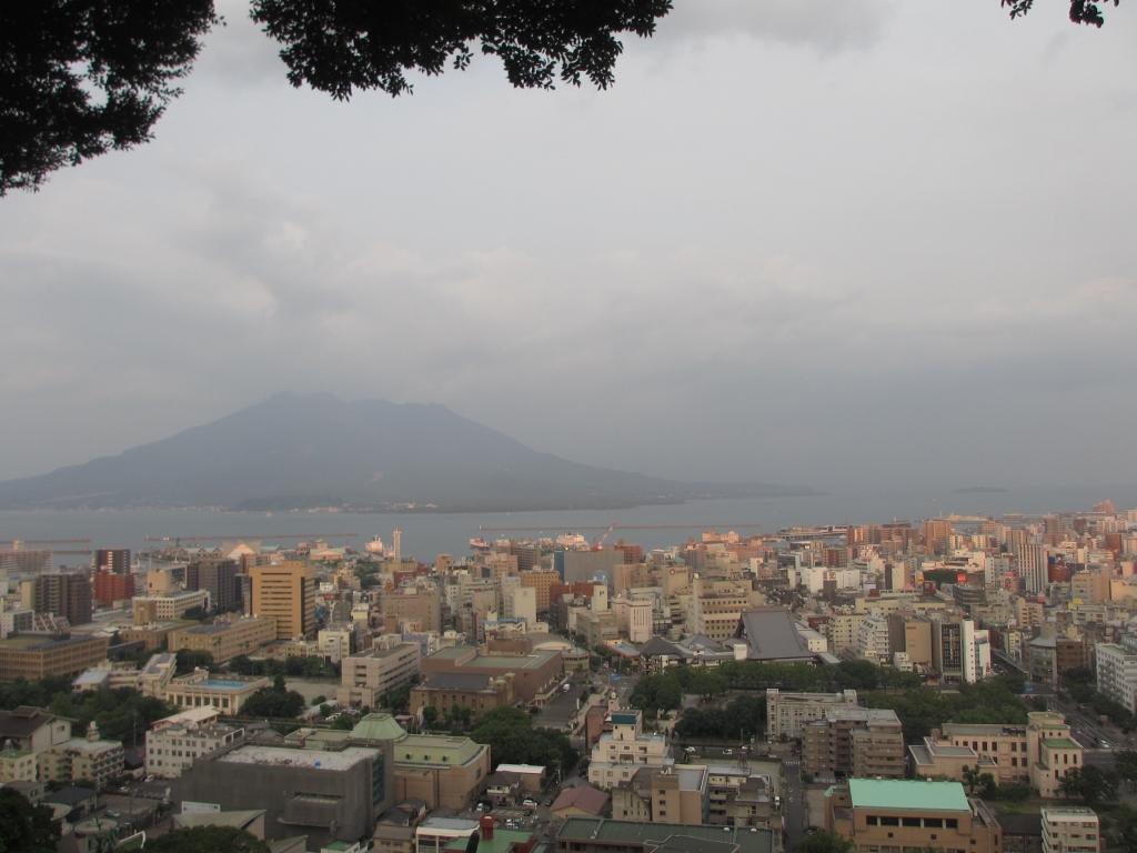 180728城山展望台からの眺め
