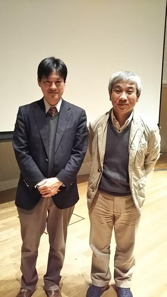 本間教授と前田会長