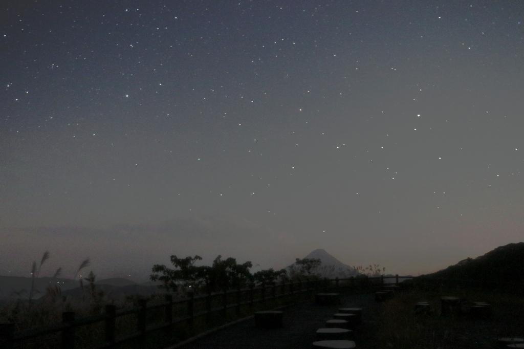 南天の星景s