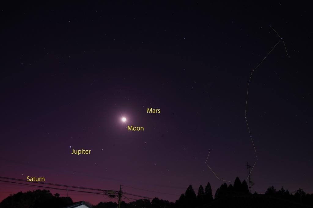200219さそり座と月・火星・木星・土星_0095(Line)