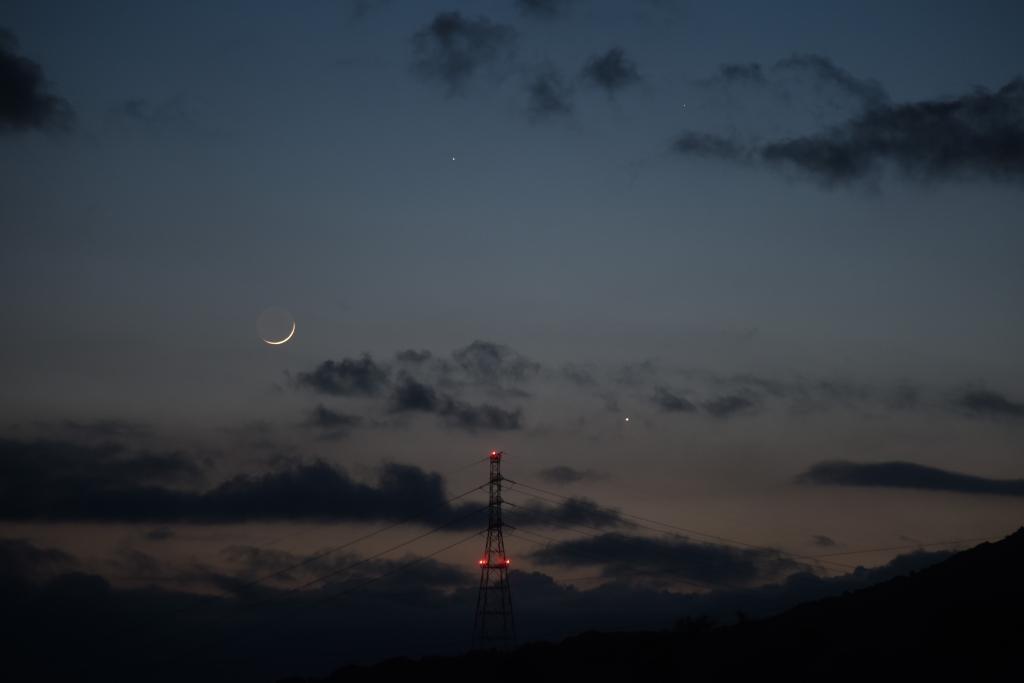 200524月と金星・土星_1597b(maeda)