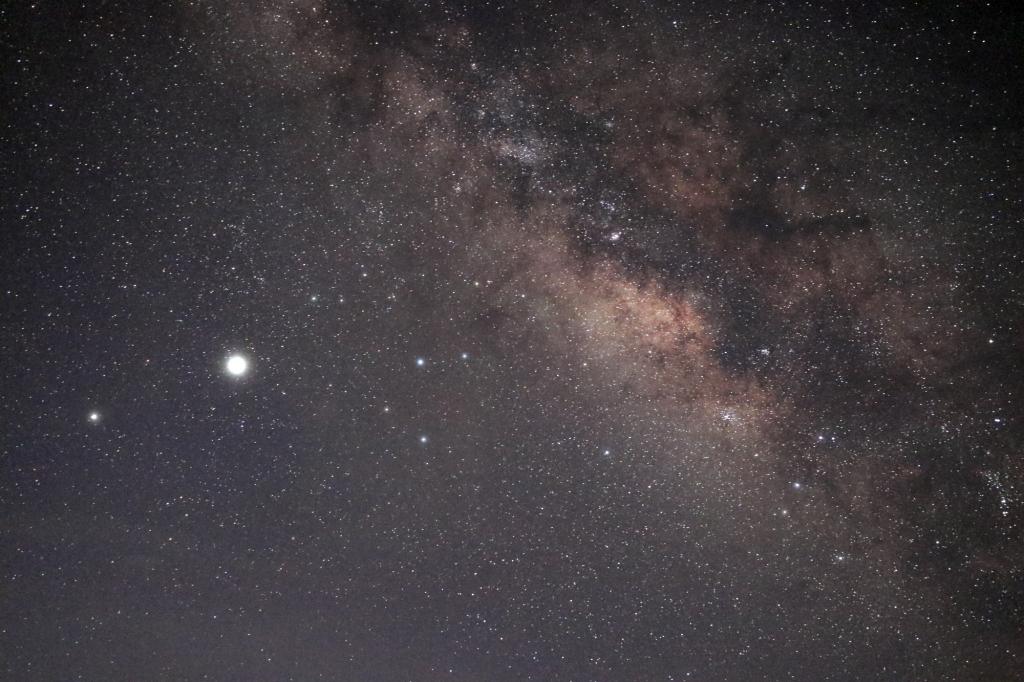 200722s天の川と木星土星20722(morinaga)