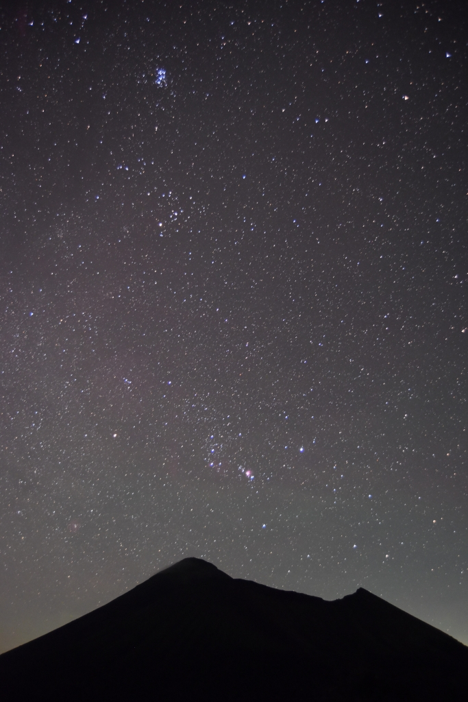 200829高千穂峰とオリオン座DSC_2911