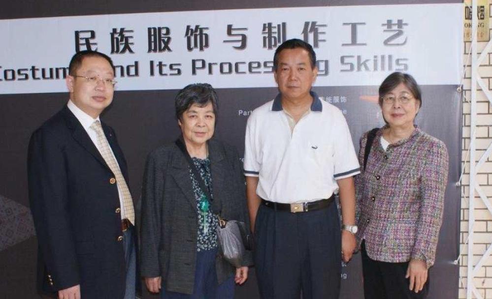 中国を訪問した際の様子
