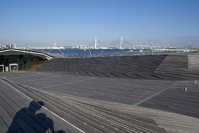 横浜 みなとみらい 大さん橋