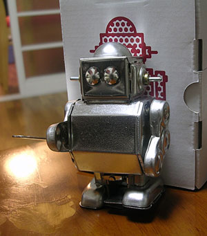 ブリキのロボット by 無印良品