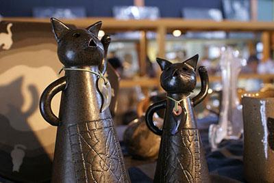 工芸品 猫ハニワ