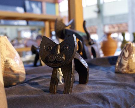 工芸品 鉄猫