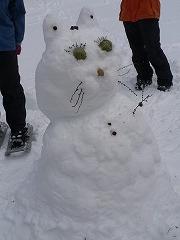 かわいい雪だるま