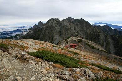 南岳小屋と穂高