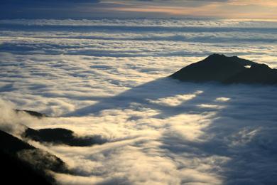 雲の海<br />