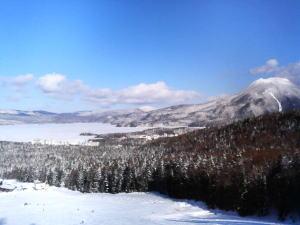 阿寒国設スキー場からの眺め