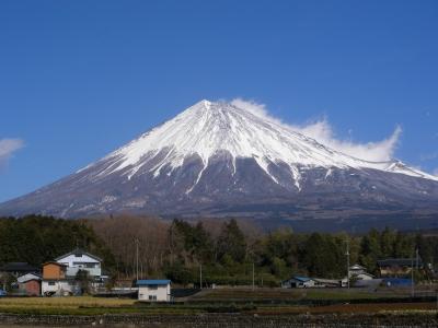 1月25日富士山。