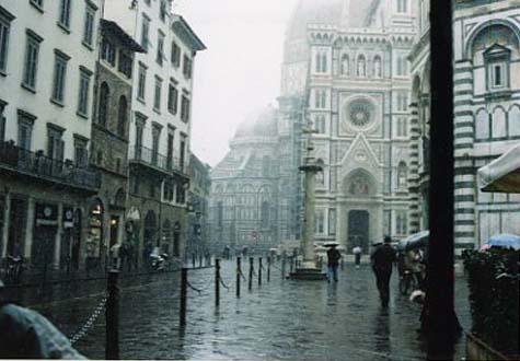 フィレンツェ 街の印象