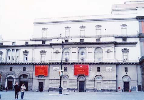 サン・カルロ歌劇場 ナポリ