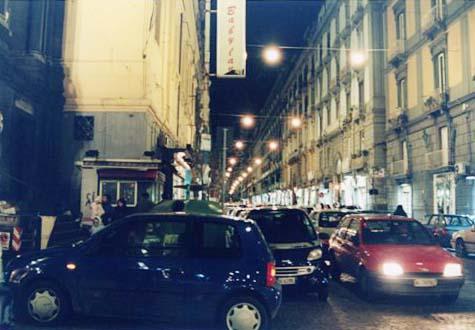 交通渋滞 ナポリ