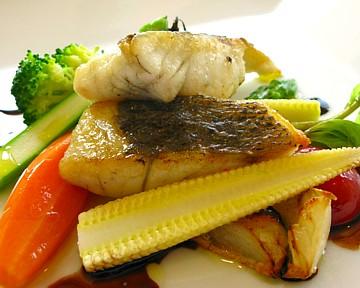 魚料理アップ