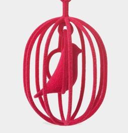 青い鳥 アクセサリー 3Dプリンター 2.jpg