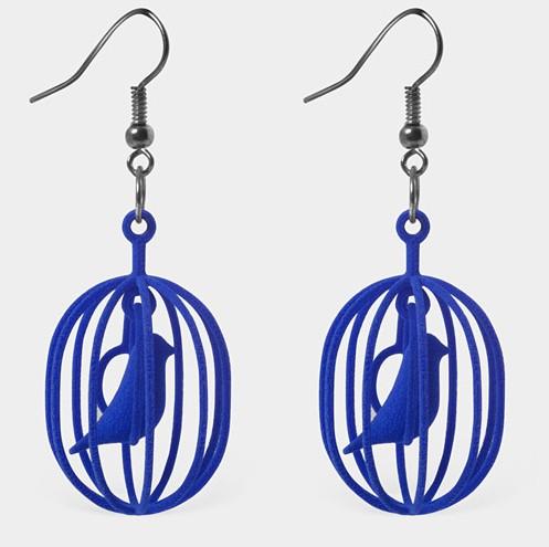 青い鳥 アクセサリー 3Dプリンター 3.jpg