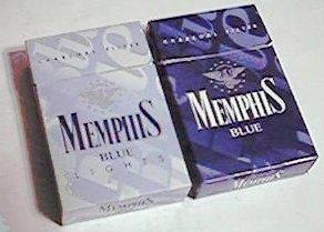 Memphis Blueパッケージ