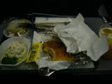 02_行き機内食