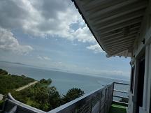 長浜城より琵琶湖