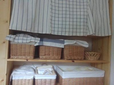 洗面脱衣所の棚その後