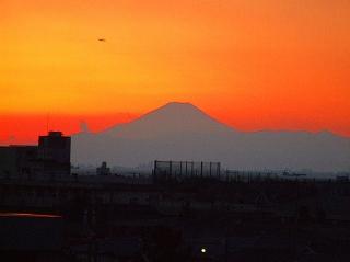 2008020 冬の日没